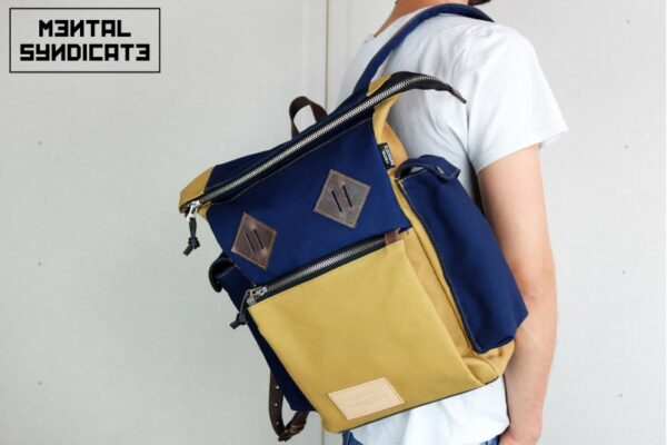 Canvas ''Snap'' Backpack - 3
