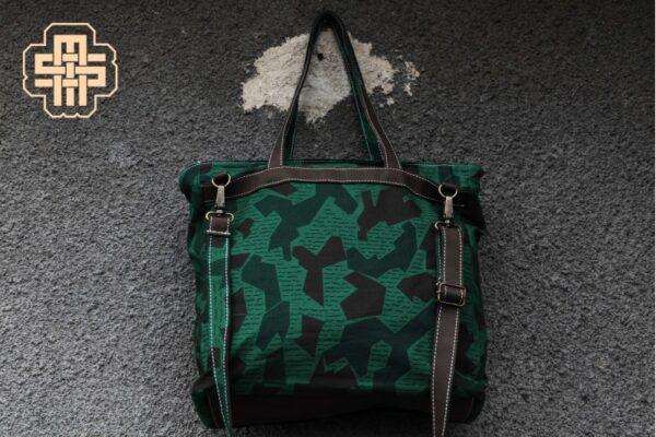Canvas Messenger Bag ''Trooper'' ARMY - 3