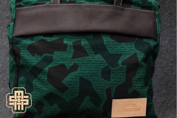 Canvas Messenger Bag ''Trooper'' ARMY - 2