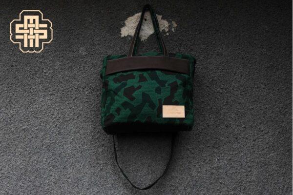Canvas Messenger Bag ''Trooper'' ARMY - 4