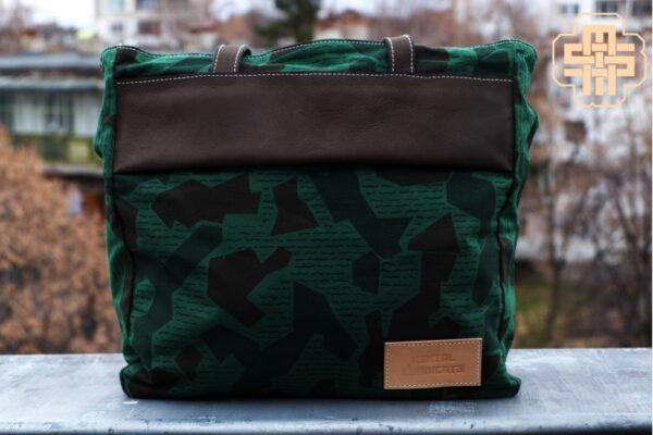 Canvas Messenger Bag ''Trooper'' ARMY - 6
