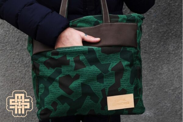 Canvas Messenger Bag ''Trooper'' ARMY - 0