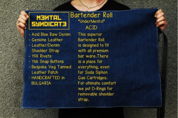 Bartender Roll UnderMental Acid Denim - 5
