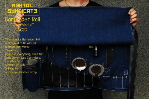 Bartender Roll UnderMental Acid Denim - 6