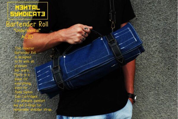 Bartender Roll UnderMental Acid Denim - 0