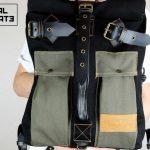 Roll Top Backpack ''Urban Drop'' - 0