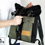 Roll Top Backpack ''Urban Drop'' - 1