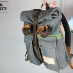 Roll Top Backpack ''Urban Drop'' - 1