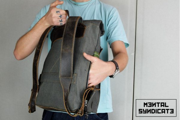 Roll Top Backpack ''Urban Drop'' - 5