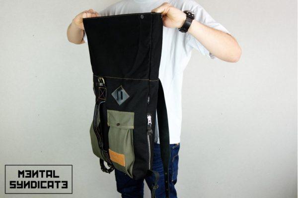 Roll Top Backpack ''Urban Drop'' - 2