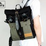 Roll Top Backpack ''Urban Drop'' - 3