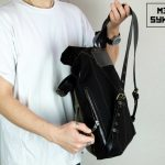 Roll Top Backpack ''Urban Drop'' - 4