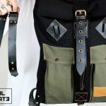 Roll Top Backpack ''Urban Drop'' - 5