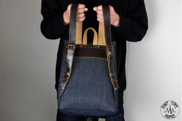 ''V'' Backpack 5 YRS - 3