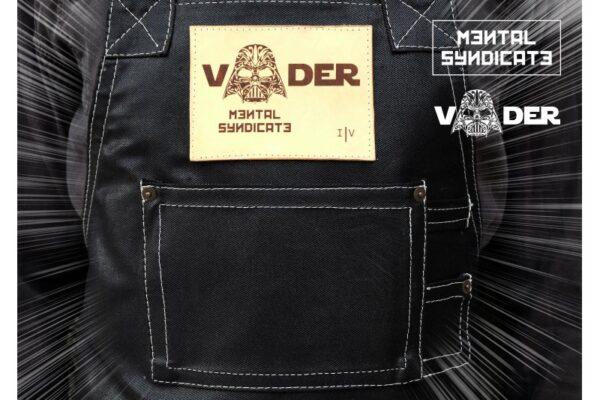 VADER Coated Black Denim Apron - 0