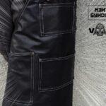 VADER Coated Black Denim Apron - 2