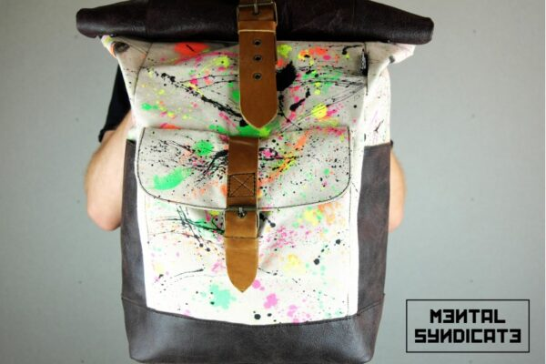 ''Warped'' Roll Top Backpack EP - 6