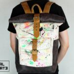 ''Warped'' Roll Top Backpack EP - 0