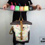 ''Warped'' Roll Top Backpack EP - 1