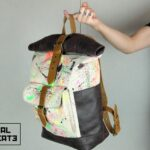 ''Warped'' Roll Top Backpack EP - 4