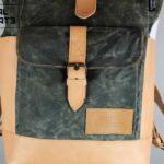 Warped Roll Top Backpack WAX - 0