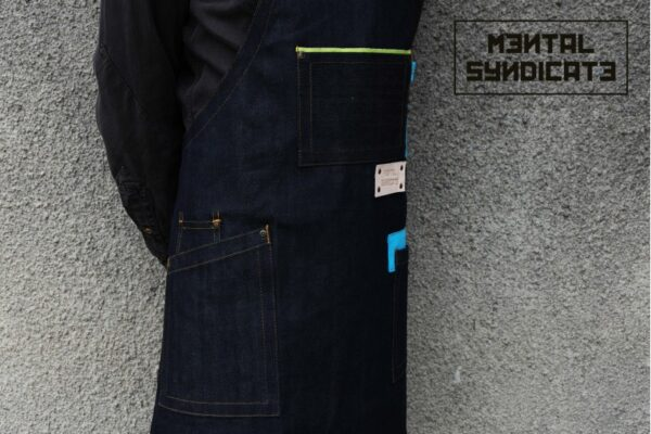 A Zido D'Apron Selvedge Denim - 0