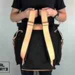 ''rVr'' Backpack Black' - 3