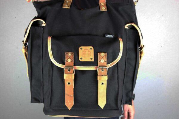 ''rVr'' Backpack Black' - 4