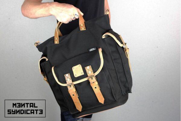 ''rVr'' Backpack Black' - 6