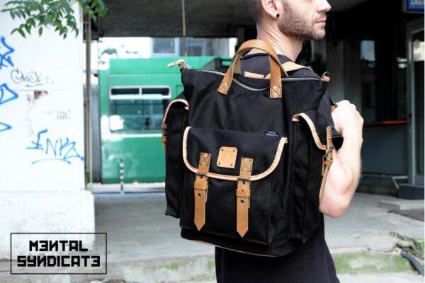 ''rVr'' Backpack Black' - 0