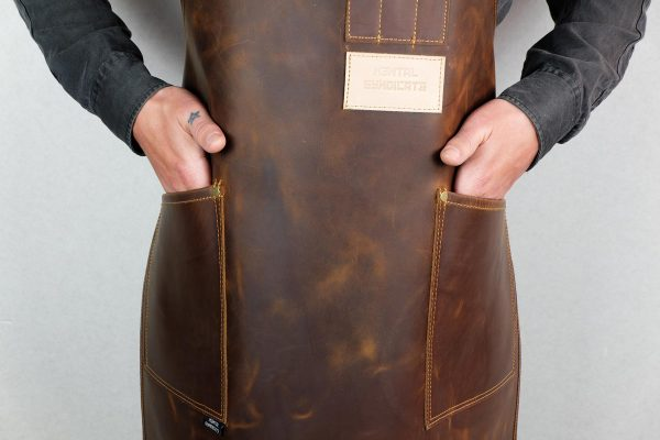 Crazy Leather Apron - 8