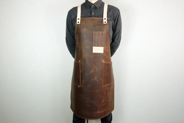 Crazy Leather Apron - 2