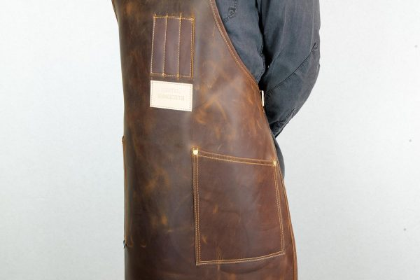 Crazy Leather Apron - 7