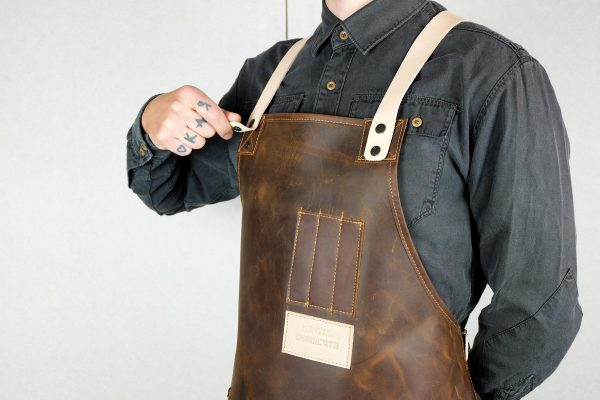 Crazy Leather Apron - 4