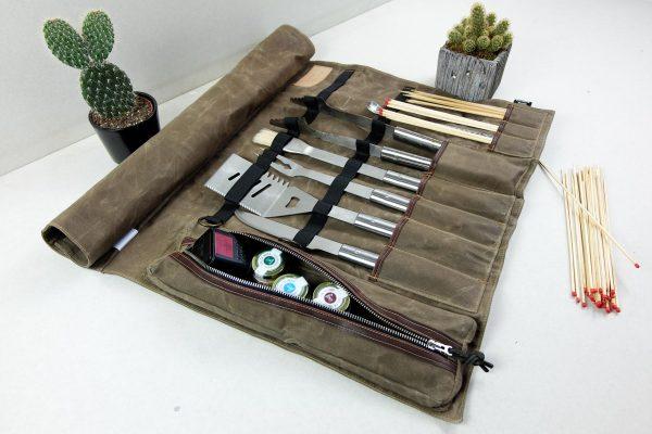 BBQ Tool Roll ''Pastel'' - 3