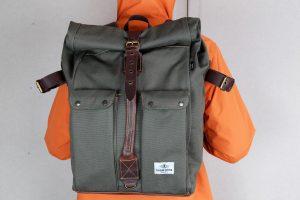 La Marzocco Traveller Backpack. Ръчно изработена туристическа раница.