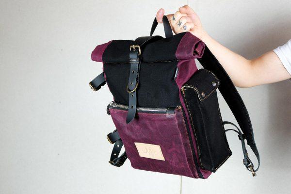 Roll Top Backpack BNB - 6