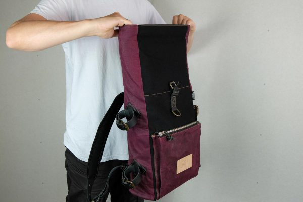 Roll Top Backpack BNB - 1
