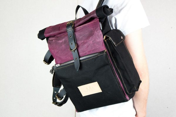 Roll Top Backpack BNB - 7