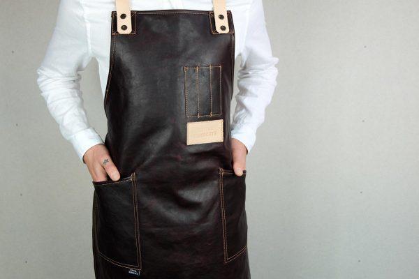 Crazy Leather Apron CHRR - 4