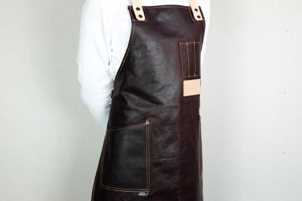 Crazy Leather Apron CHRR - 3