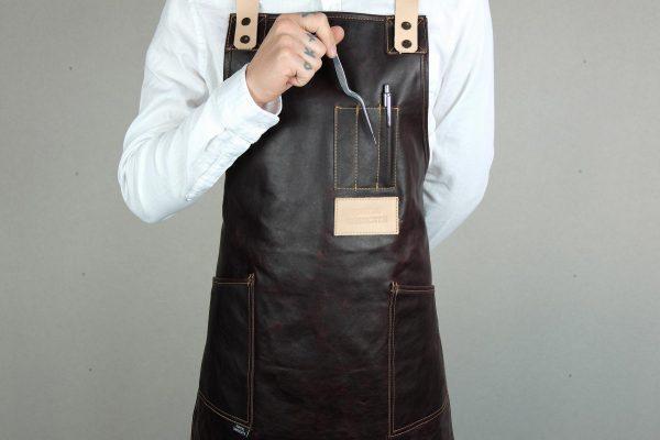 Crazy Leather Apron CHRR - 0