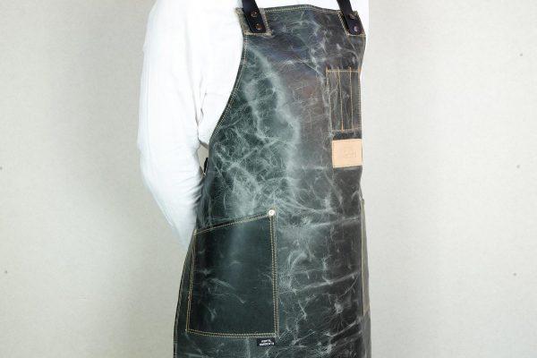 Crazy Leather Apron MRBL - 3