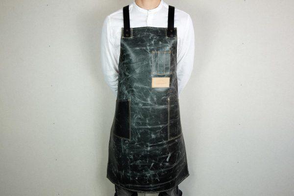 Crazy Leather Apron MRBL - 4