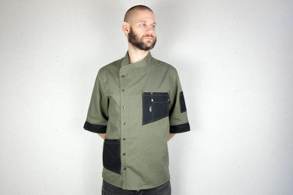 Chef Jacket ''One Self'' KHK - 5