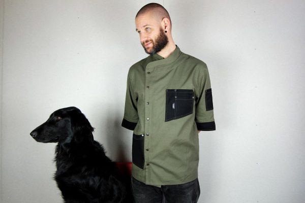 Chef Jacket ''One Self'' KHK - 4
