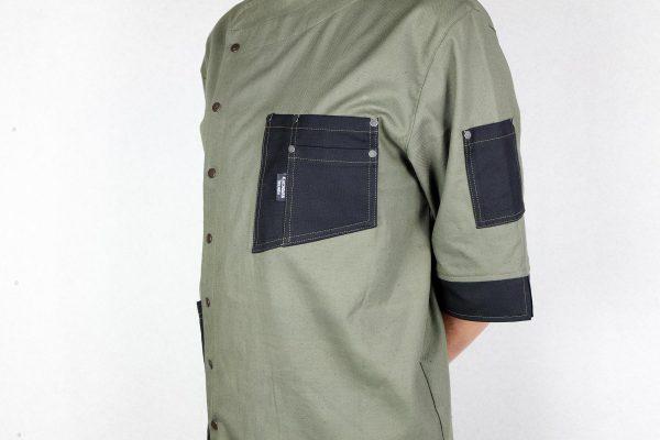 Chef Jacket ''One Self'' KHK - 3