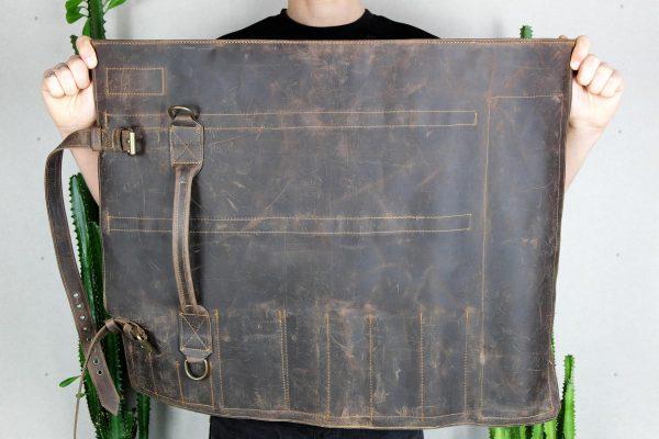 BBQ Leather Roll BLCK - 6