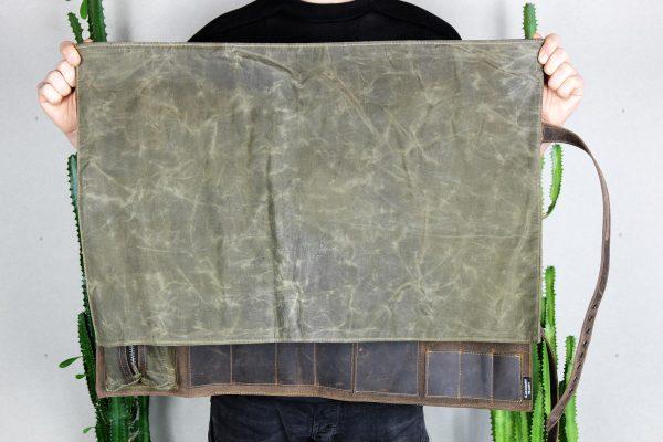 BBQ Leather Roll BLCK - 5