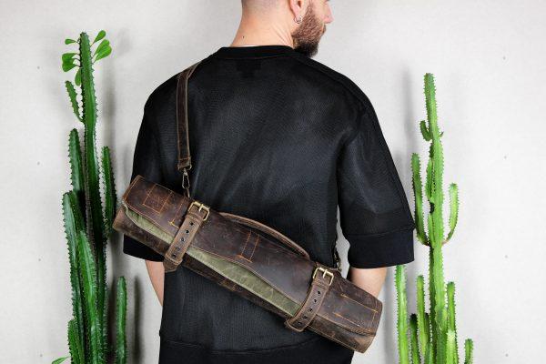 BBQ Leather Roll BLCK - 7
